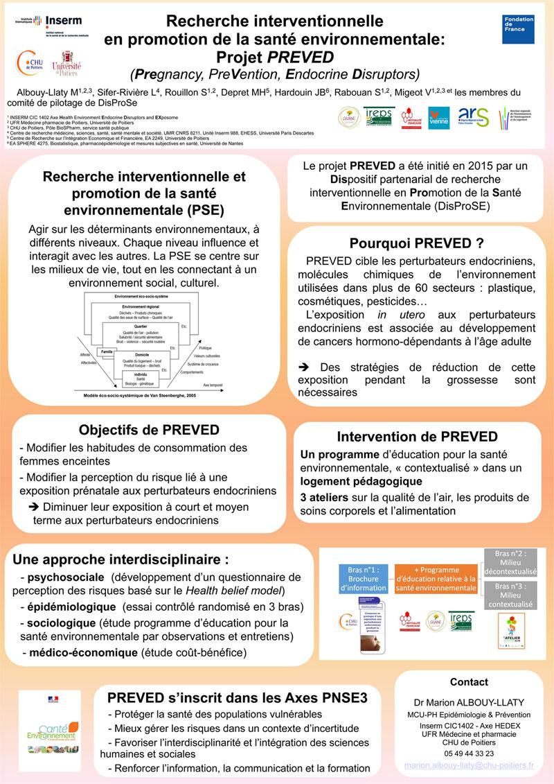 Poster de l'étude Preved