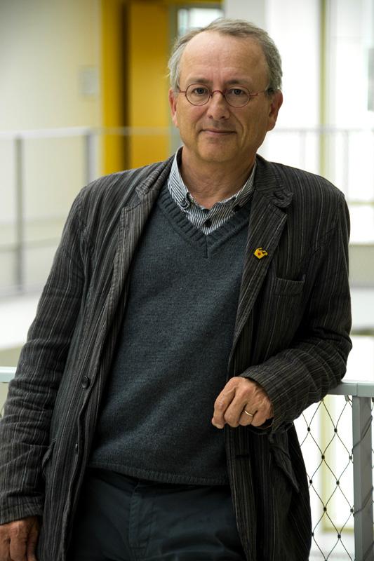 Pr René Robert, délégué régional à la recherche au CHU de Poitiers