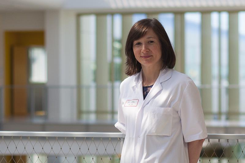 Sarah Thévenot, maitre de conférences des universités et praticien hospitalier au sein de l'unité d'hygiène hospitalière du CHU de Poitiers
