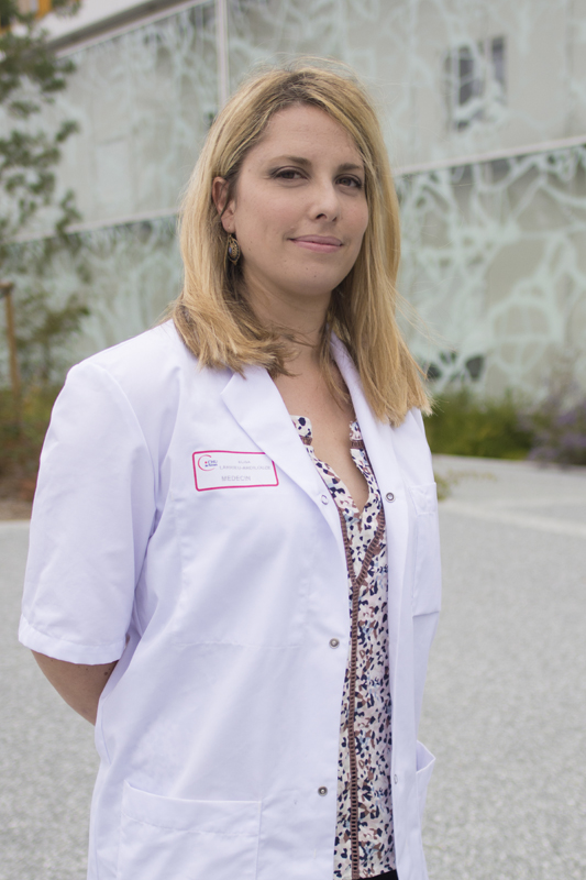 Dr Elisa Larrieu, cardiologue au CHU de Poitiers.