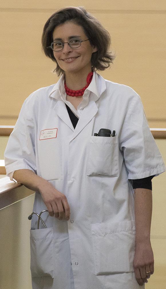 Dr Blandine Rammaert, infectiologue au CHU de Poitiers