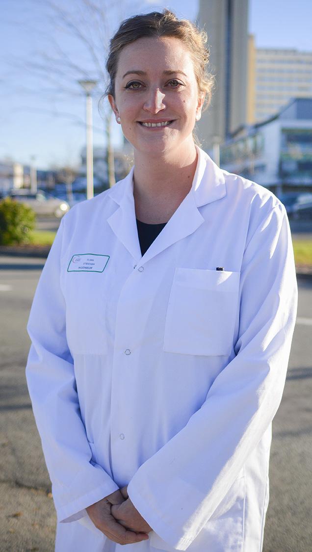 Clara Steichen, chercheuse dans le domaine des biotechnologies au CHU de Poitiers