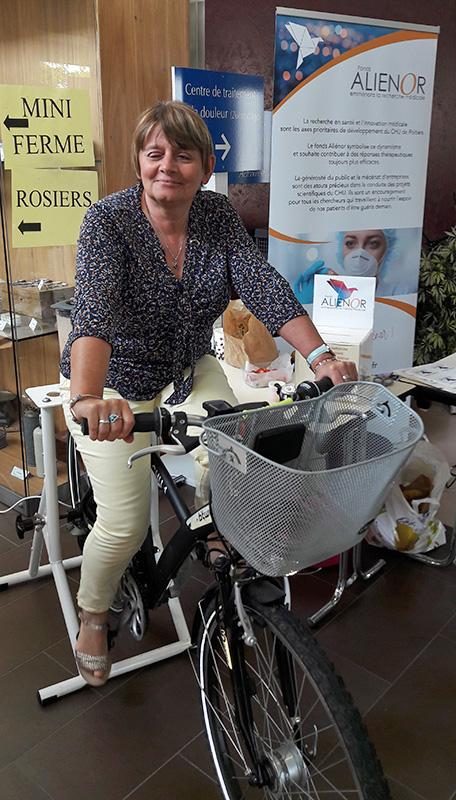 L'élaboration de smoothies à l'aide d'un vélo spécial a connu un franc succès.