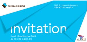 Invitation soirée AG2R La Mondiale