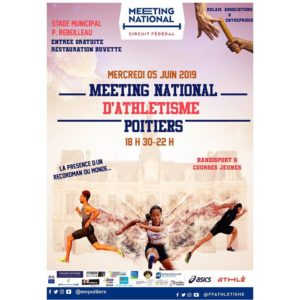 meeting national d'athlétisme de Poitiers